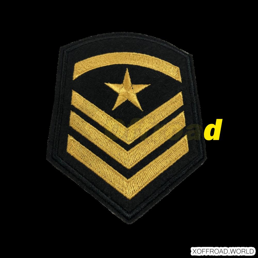 Fahne, bestickt