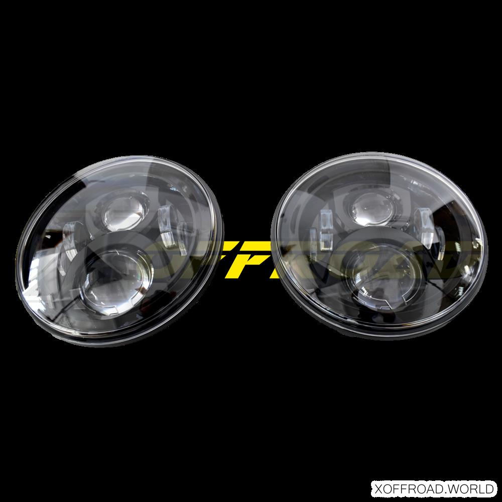 "7"" LED Frontscheinwerfer Set"
