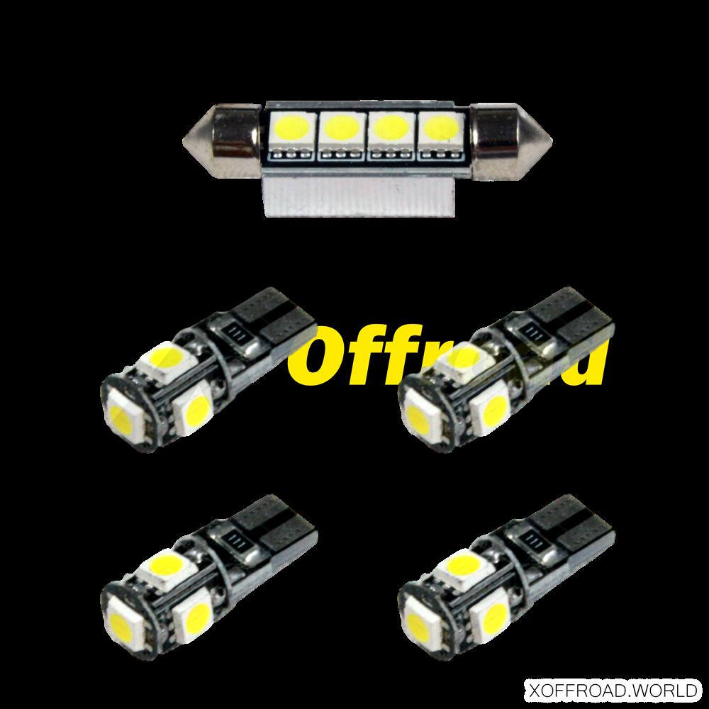 Set LED Leuchtmittel Innenraum
