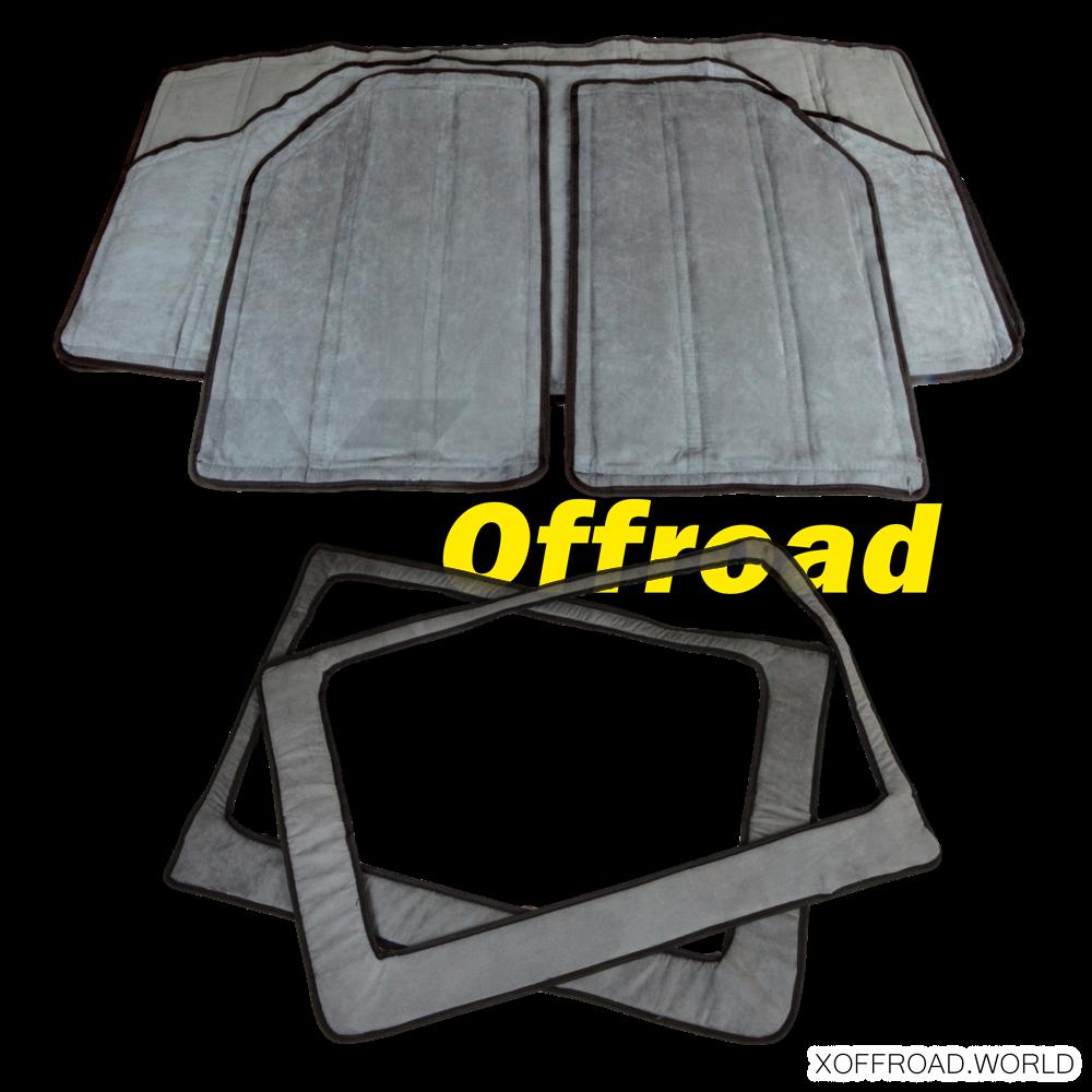 Set Dach- und Seitenfenster Isolierung
