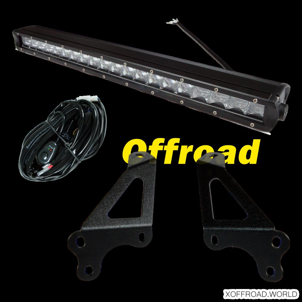 LED Motorhauben Lichtleisten Set