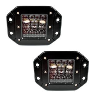 XOAL001 Xoffroad Faro LED de Trabajo Luz abierta y concentrada 60W