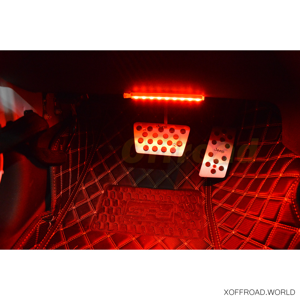 innenbeleuchtung ambient led set rot xoia004 x offroad. Black Bedroom Furniture Sets. Home Design Ideas