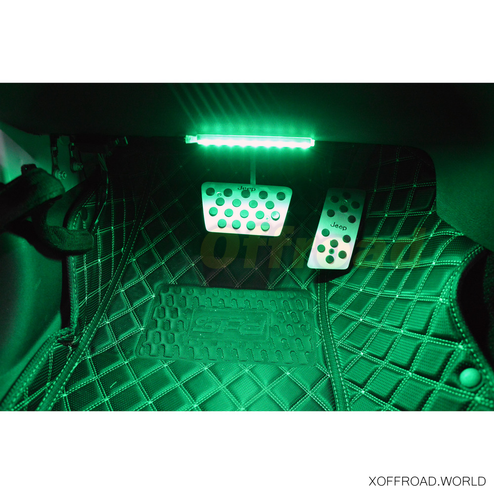 innenbeleuchtung ambient led set gr n xoia008 x offroad. Black Bedroom Furniture Sets. Home Design Ideas